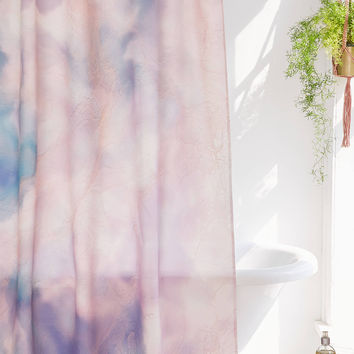 Chelsea Victoria For DENY Unicorn Marble Shower Curtain   Urban Outfitters