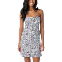 Volcom Farmers Daughter Cheetah Print Dress