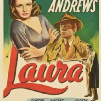 Laura Movie Poster 24inx36in