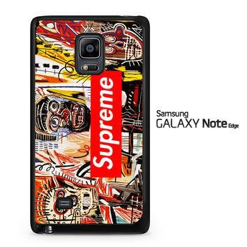 supreme to release collection featuring basquiats V1635 Samsung Galaxy Note Edge Case