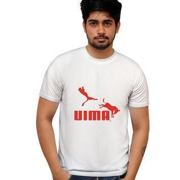 uima red puma parody illustration t shirt  number 2
