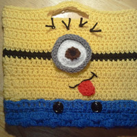 Despicable Me Minion inspired children's purse by LittleDebiSnack