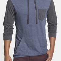Men's RVCA 'Set Up' Lightweight Jersey Hoodie,