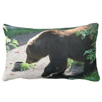 Brown Bear Pillow