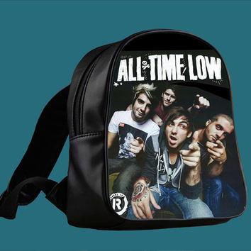 All Time Low Design for Backpack / Custom Bag / School Bag / Children Bag / Custom School Bag *