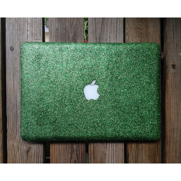 Glitter MacBook Case / MacBook Pro, MacBook Air ( GREEN)