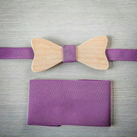 Butterfly bow tie Wooden Bow Tie. Wood Bow Tie - Boys Bowtie. Oak Wood Bowtie. Wooden Bowtie - Mens Bow Tie. 100% Hand Made