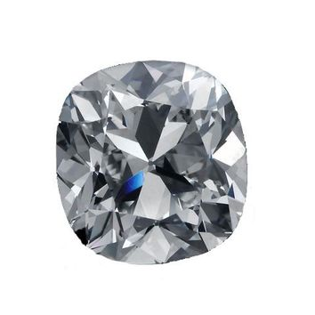 .75ct Square Cushion Radiant Cut Diamond Veneer Loose Stone