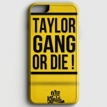 Wiz Khalifa Taylor Gang Or Die iPhone 8 Case | casescraft