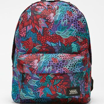 Vans Saulo Ibarra School Backpack - Womens Backpack - Multi - NOSZ