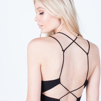 Back Cut Out Cami