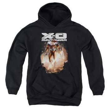 Xo Manowar - Lightning Sword Youth Pull Over Hoodie