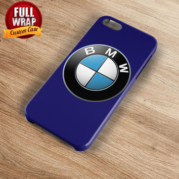 BMW Automobile Car Logo Full Wrap Phone Case For iPhone, iPod, Samsung, Sony, HTC, Nexus, LG, and Blackberry