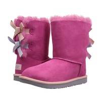 Ugg Fashion Winter Women Cute Bowknot Flat Warm Snow Ankle Boots-1