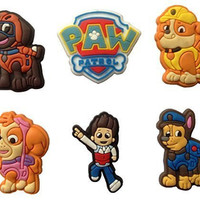 Paw Patrol Fridge Magnets 6 Pcs Set #1