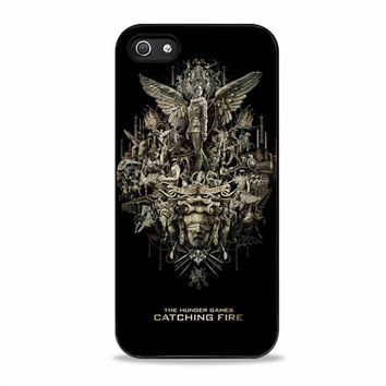 the hunger games cover movies  Iphone 5S Cases