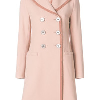 Goat Contrast Trim Cavendish Trench Coat - Farfetch