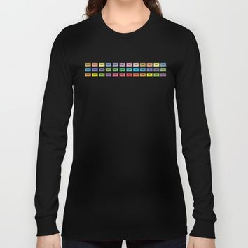 Wall of Sound Long Sleeve T-shirt by picturing juj