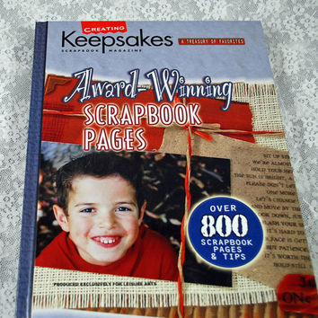 Scrapbooking, Cardmaking, Hard Cover Creating Keepsakes Book - 288 Pages of Ideas - Many More Technique Instructions - Over 800 Examples