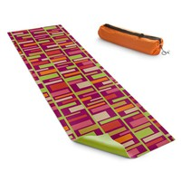 Yoga Mats By Julia Grifol Colourful Rectangles