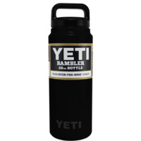 YETI Black Matte 26 oz Rambler Bottle