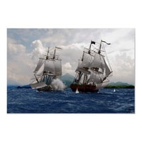 pirates II Poster from Zazzle.com