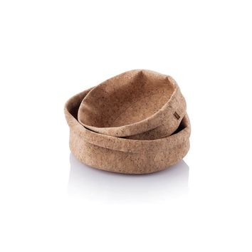 'Adjust-A-Bowl' Soft Cork Fabric Bowl, Round