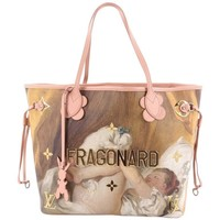 Louis Vuitton Neverfull NM Tote Limited Edition Jeff Koons Fragonard Prin