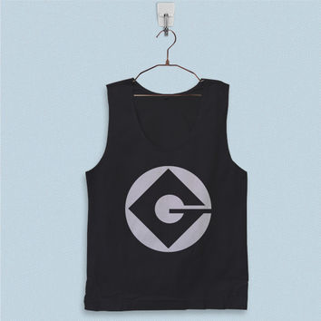 Men's Basic Tank Top - Minion G Logo