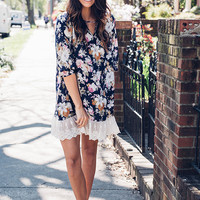 Lace And Blossom Dress