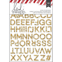 Oh What Fun! 192 Glitter Alphabet Stickers for Scrapbooks, Photos, Cards: Heidi Swapp