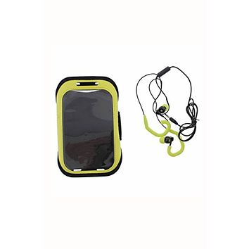 Polaroid Yellow Armband And Earbuds Set