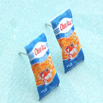 Vintage Cheetos Puffs Earrings