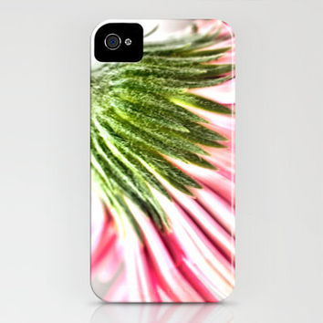 Pink Gerbera 6 iPhone Case by Steve Purnell | Society6