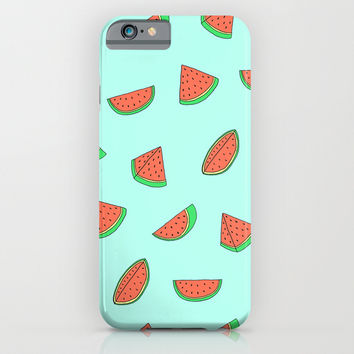 Watermelon Print iPhone & iPod Case by Saif Chowdhury