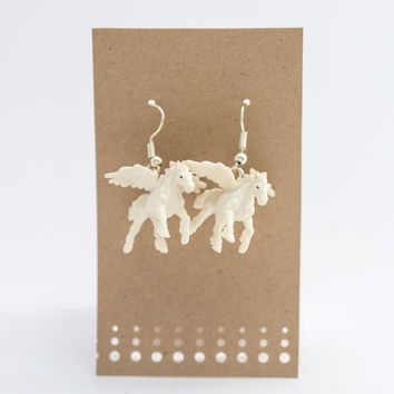 Pegasus Spirit Animal Earrings