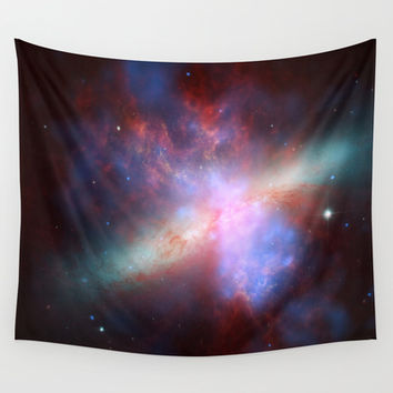 Cosmic Galaxy Wall Tapestry by All Is One