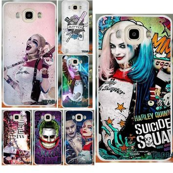 Bixedx Harley Quinn Suicide Squad For iPhone X 4 4S 5 5S 5C SE 6 6S 7 8 Plus LG G3 Mini G4 G5 G6 K4 K7 K8 K10 V10 V20 Spirit