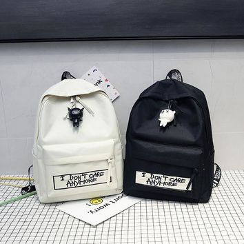 """""""I DON'T CARE ANYMORE"""" Backpack"""