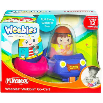 Playskool Weebles Wobblin Go-Cart