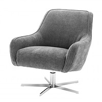 Gray Swivel Chair | Eichholtz Serena