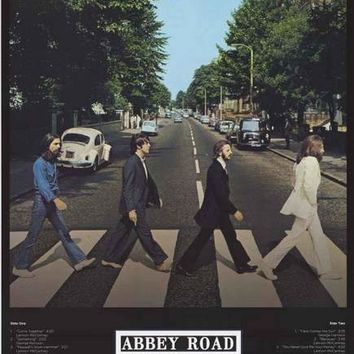 The Beatles Abbey Road Trax Poster 24x36