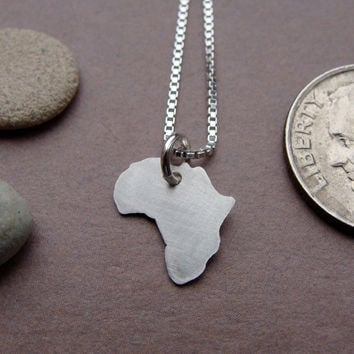 Tiny Africa Necklace