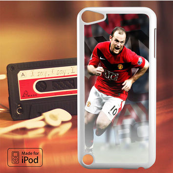 Wayne Rooney Manchester United iPod Touch 4 iPod Touch 5 iPod Touch 6 Case