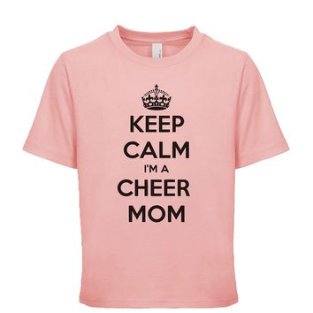 Keep Calm I'm A Cheer Mom  Unisex Kid's Tee