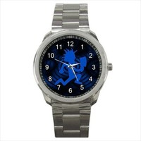 Blue Hatchet Man Sport Metal Watch for Collectible Item or Gift from Idea Shoppe