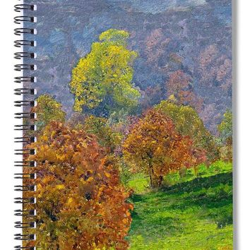 Valley Of The Trees - Spiral Notebook