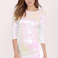 After Hours Sequin Bodycon Dress $100
