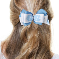 North Carolina Tar Heels Women's Mary Loop Hair Bow