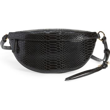 Stella McCartney Alter Snake Faux Leather Fanny Pack | Nordstrom